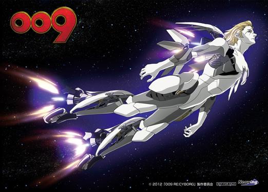 「009 RE:CYBORG」Blu-ray&DVD NEO WING 2Lポートレート ©「009 RE:CYBORG」製作委員会