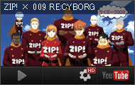 Cyborg 009 with Nippon Television show ZIP! Special © 009 RE:CYBORG Production Committee